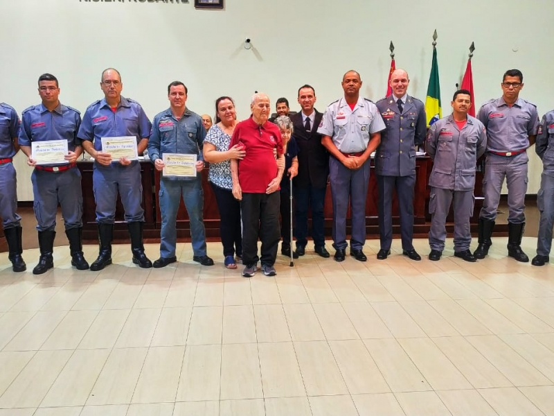 Câmara aprova Moção de Aplauso ao Corpo de Bombeiros