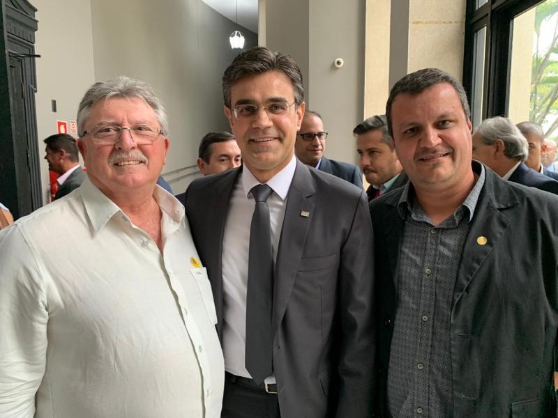 Vereador Rodrigo Miranda participa em SP do lançamento do Programa Nossa Casa